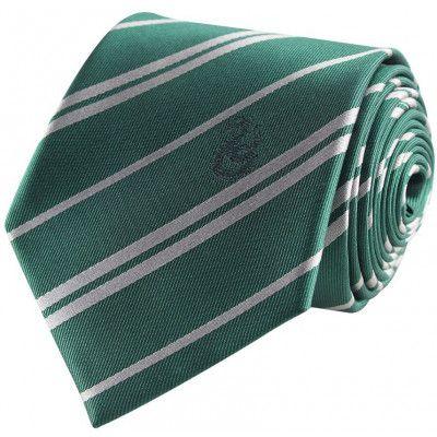 Harry Potter - Slytherin Tie & Metal Pin