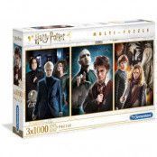 Harry Potter - 3-Pack Puzzles (Characters)