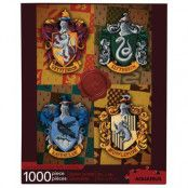Harry Potter - Crests Jigsaw Puzzle (1000 pieces)