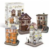 Harry Potter - Diagon Alley 3D Puzzle (273 pieces)