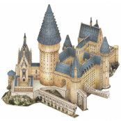 Harry Potter - Great Hall 3D Puzzle (187 pieces)