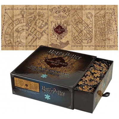 Harry Potter - Jigsaw Puzzle The Marauder's Map Cover