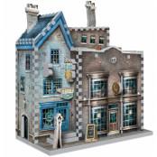 Harry Potter - Ollivander's Wand Shop & Scribbulus Writing Implements 3D Puzzle