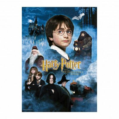 Harry Potter - Philosopher's Stone Movie Poster Juggsaw Puzzle