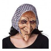 Häxa med Sjal Mask - One size