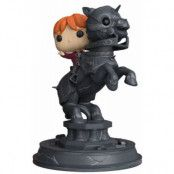 Funko POP! Movie Moments: Harry Potter - Ron Weasley Riding Chess Piece