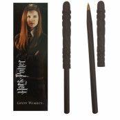 Ginny Weasley Wand Pen & Bookmark